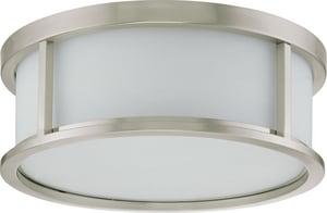 Nuvo Lighting Odeon 60W 3-Light Flushmount Ceiling Light N602862