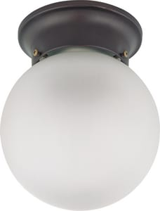 Nuvo Lighting 6W 1-Light 120V Flushmount Ball Ceiling Light Fixture N603154