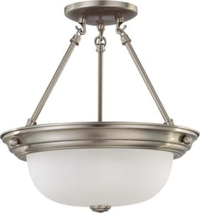 Nuvo Lighting 14 in. 2-Light Medium Flushmount Ceiling Light N603245