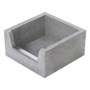 Fiat Products 24 x 24 x 12 in. Mop Service Basin Grey FTSB3010501