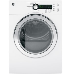 General Electric Appliances 4 CF Capacity Electric Dryer in White GDCVH480EKWW