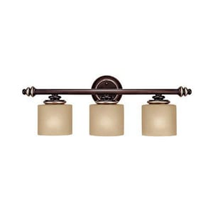 Capital Lighting Fixture Park Place 7-1/4 in. 100 W 3-Light Medium Bracket C1133CZ296