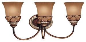Minka Aston Court™ 3 Light 100 W Medium Bracket in Aston Court Bronze M5743206