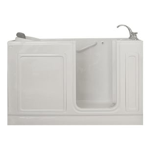 Safety Tubs 37 x 60 x 32 in. 80 gal Acrylic Freestanding Walk-In Bathtub with Right Hand Drain SST6032177RS