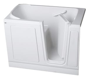 Safety Tubs 51 x 30 in. Whirlpools with Left-Hand Drain in White SST5130LDWH