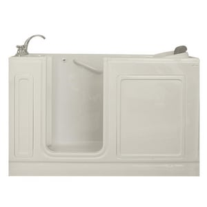 Safety Tubs 60 x 32 in. Whirlpools with Left-Hand Drain in Biscuit SST6032177LDBC