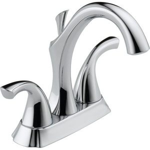 Delta Faucet Addison™ 1.5 gpm 3-Hole Centerset Bathroom Faucet with Double Lever Handle and Drain Assembly D2592LF