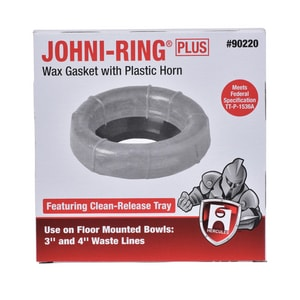 Hercules Chemical Johni-Ring® Wax Ring Gasket with Horn H90220