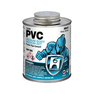 Hercules Chemical 1 pt PVC Cement HER60015