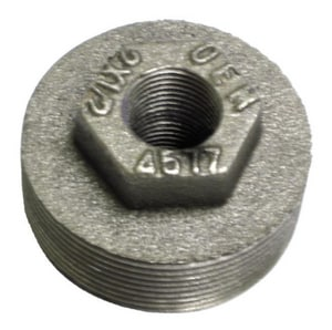 OEM/Oil Equipment Mfg Black Double Tap Bushing O457