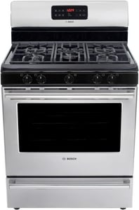 Bosch Ascenta 30 in. Self Cleaning Freestanding Gas Range BHGS3053UC