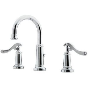 Pfister Ashfield™ 3-Hole Widespread Lavatory Faucet with Double Lever Handle PGT49YP0