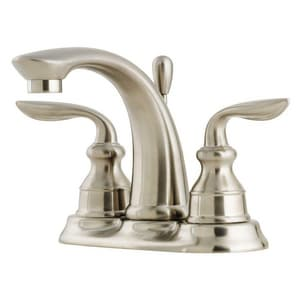 Pfister Avalon™ Centerset Lavatory Faucet with Double Lever Handle Metal Pop-Up PGT48CB0