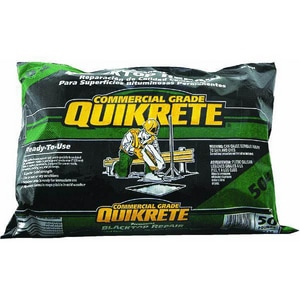 Quikrete 50 lbs. Commercial Grade Permanent Blacktop Repair Q170159