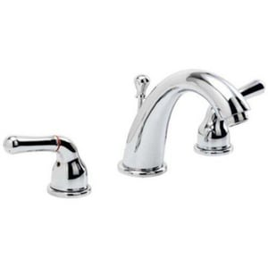 PROFLO® Double Lever Handle Widespread Lavatory Faucet with Brass Pop-Up PFWS5205
