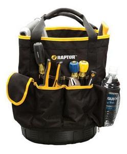 Raptor PVC Polyester Round Tool Bag Rubber B RAP77012