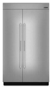Jennair 48 in. Panel Side By Side Built-In Refrigerators in Stainless Steel JJPK48SNXWPS
