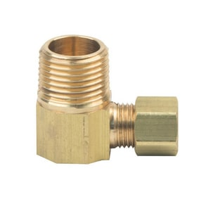 Brass Craft OD Tube x MIP Brass Compression Elbow B69X