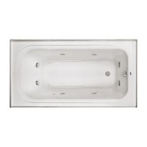 PROFLO® 60 x 32 in. 3-Wall Alcove Whirlpools with Left-Hand Drain PFW6032ALSK