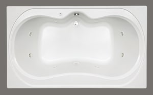 Mirabelle® St Augustine® 72 x 42 in. Acrylic Air Whirlpool MIRSAT7242