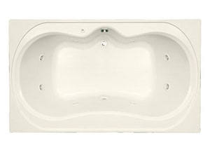 Mirabelle® St Augustine® 72 x 42 in. Drop-In Whirlpools MIRSAW7242