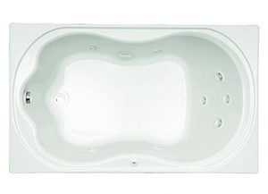 Mirabelle® Key West® 60 x 36 in. Acrylic Key West Air Bath Tub Whirlpool MIRKWW6036