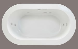 Mirabelle® Winter Haven® 71 x 40 in. Acrylic Undermount Whirlpool MIRWHW7140