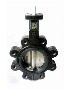 Apollo Conbraco LD141 Series Ductile Iron EPDM Gear Operator Handle Butterfly Valve ALD141SE12