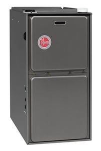 Rheem RGRS Series 24-1/2 in. 93.5% AFUE 5 Ton Single-Stage Upflow 3/4 hp Natural or LP Gas and AC Furnace RGRSERAJS
