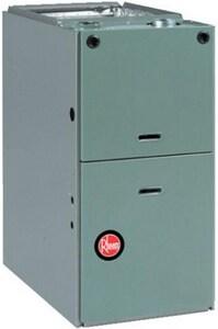 Rheem 3/4 hp 100 MBH 80% AFUE Upflow Horizontal Gas Furnace RGPSEBRJR