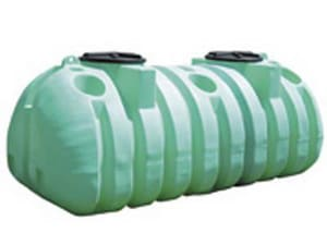 Norwesco 1,050 gal. Double Compression Polyethylene Septic Tank N42250