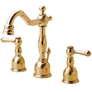 Danze Opulence™ Mini Widespread Lavatory Faucet with Double Lever Handle DD303057