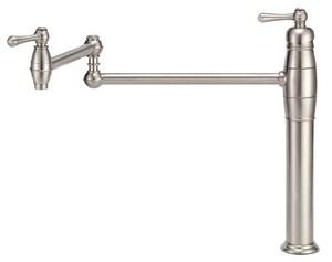 Danze Opulence™ 1-Hole Deckmount Pot Filler with Single Lever Handle DD206557