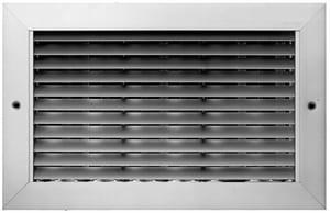 PROSELECT® 24 x 6 in. Aluminum Horizontal Blade Return Grille PSAH45W24U