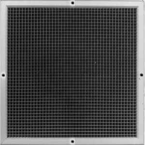Proselect® 30 x 14 in. Aluminum Egg Crate Filter Grille PSAEC5FG3014