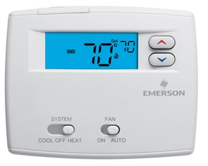 White Rodgers Emerson Blue™ Non-Programmable Thermostat W1F860244