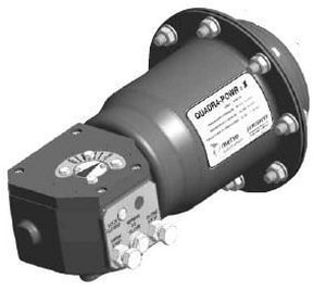 Quadra-Powr®X Carbon Steel and Stainless Steel Actuator JQPX2CM