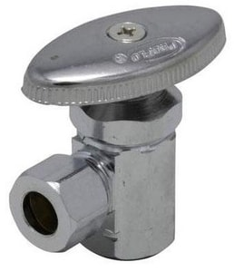 PROFLO® 3/8 in. Female Iron Pipe x 3/8 Open Diameter Compact Angle Stop PFXAT22