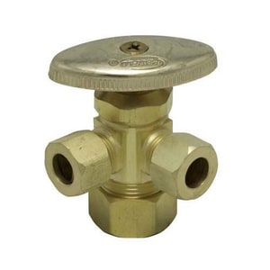 PROFLO® 5/8 in x 3/8 in Oval Handle Angle Supply Stop Valve PFX3C322
