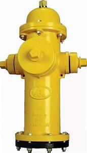 American Flow Control 4 ft. x 5-1/4 in. Open Hydrant AFCB84BLAOLNMAN