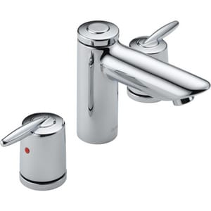 Delta Faucet Grail® 1.5 gpm Widespread Bathroom Faucet D3585LFMPU