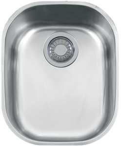 Franke Consumer Products Compact 1-Bowl Undercounter Kitchen Sink FCPX11013