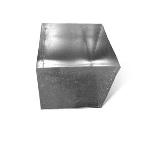 Lukjan Metal Products 20 x 8 in. R8 Return Air Box SHMRABR820X