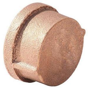 Merit Brass FNPT Brass Cap BRLFCAP