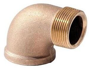 Merit Brass Brass Street 90 Degree Elbow BRLFS9