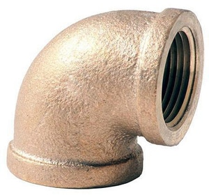 Merit Brass FNPT Brass 90 Degree Elbow BRLF
