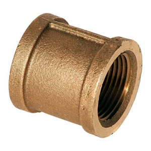 Merit Brass Extra Heavy Brass Coupling BRLFXHC