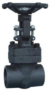 Neway Valve G8SA8 800# Forged Steel Socket Weld Outside Stem and Yoke Gate Valve NG8SA8