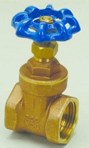 PROFLO® 200# FIP x Threaded Brass Non Rising Stem Gate Valve PFXT300
