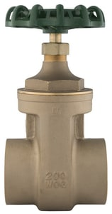 PROFLO 200# Brass Sweat Non Rising Stem Gate Valve PFXT300S